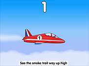 Five Red Planes