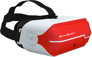 Inclusive ClassVR Headset / headset on student