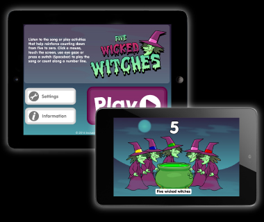Five Wicked Witches Apps